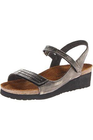 Naot Damen Keilabsätze - Madison Damen-Sandale mit Keilabsatz, (Metall)
