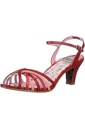 Bettie Page Damen Sandalen - Damen BP250-MARGOT Sandalen mit Absatz