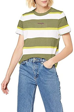 Wrangler Womens HIGH Rib Regular Tee T-Shirt