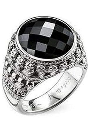 Thomas Sabo Herren-Ring Rebel at heart 925 Silber Onyx Gr. 60 (19.1) - TR2005-024-11-60