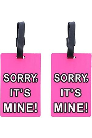SandT Collection Gepäckanhänger Humor Pack Up and Leave - 2 Stück (Pink) - 2STLT0078HP