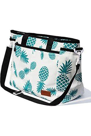 VAVAER Damen Handtaschen - Damen Weekender Bag Leichte Gym Tote Übernachtung Handgepäck Tragetasche Wasserdicht Duffel im Trolleygriff