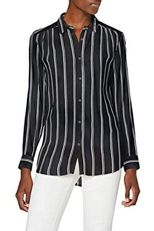 SPARKZ COPENHAGEN Damen Tula Stripe Shirt Hemd, Black