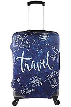 Gln Reisekoffer Schutzabdeckung Trolley-Koffer passend für 22-28 Zoll