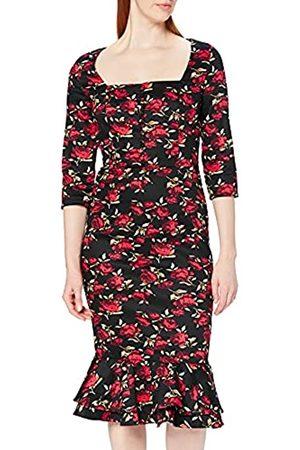 Joe Browns Damen Vintage Rose Dress Lssiges Kleid