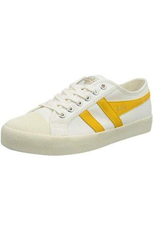 Gola Damen Schuhe - Damen Coaster Sneaker, Off White/Sun