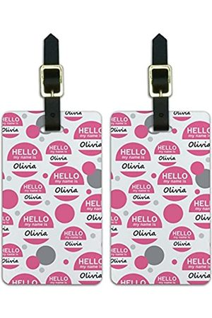 Graphics and More Graphics & More Oc-ow-Olivia Hello My Name is - Luggage.Tags.12499