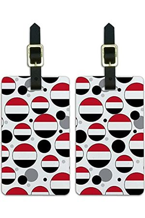 Graphics and More Graphics & More Nationalflagge T-z-Yemen - Luggage.Tags.09755