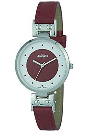 Arabians Damen Uhren - DamenAnalogQuarzUhrmitLederArmbandDBA2244R