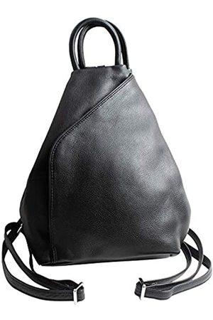 MALTA Damen Rucksäcke - Damen Rucksack aus Vollnarbenleder, 3-Wege-Leder, schlank, aber hohe Kapazität