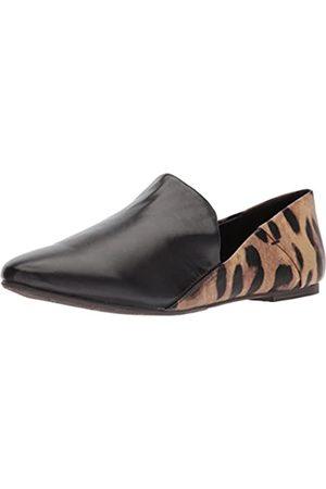 Very Volatile Damen Schuhe - Damen GAGA Sport-Sandale, Schwarz (leopard)