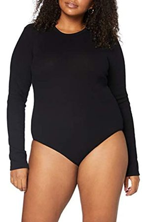 MERAKI Amazon-Marke: Damen Body aus Baumwolle (Black), XXL