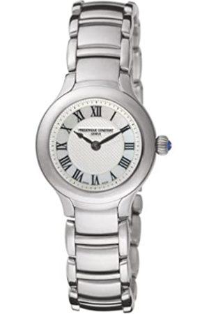 Frederique Constant Damen Uhren - Damen-Armbanduhr XS Junior Analog Quarz Edelstahl FC-200M1ER6B