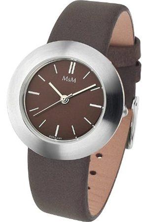 M&M Damen Uhren - Damen-Armbanduhr Pure Classic M11828-525