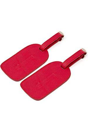 Logical Leather Gepäckanhänger aus echtem Leder, mit verstellbarem Lederband