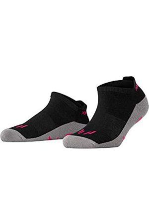 Burlington Sneaker Running angenehme Materialien Größe 36-41 Damen weiß viele weitere Farben verstärkte Sportsocken ohne Muster gepolstert kurz mit Frotteesohle zum Laufen 1 Paar