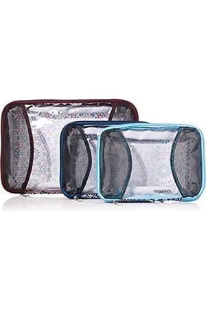 Baggallini Unisex-Erwachsene 2 Medium/ 1 Large Compression Cubes 2 x mittlere / 1 x große Kompressionswürfel