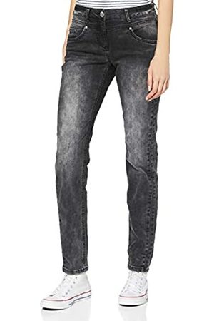 CECIL Damen 373701 Style Charlize Slim Fit Jeans