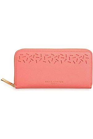 Katie Loxton Geldbörse für Damen, lasergeschnittenes Konfetti, veganes Leder, durchgehender Reißverschluss