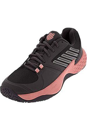 K-Swiss Women`s Aero Court Tennis Shoes Plum Kitten and Coral Almond (6.5)