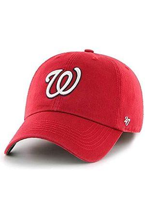 '47 MLB Team Color Alternate Franchise Fitted Hat, Unisex Adult (Washington Nationals Red