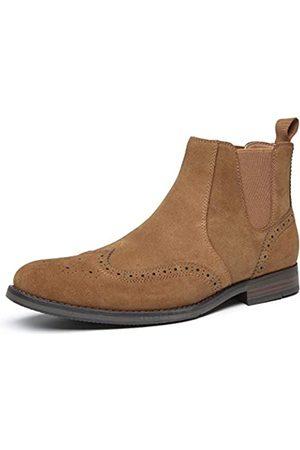 JORDI GIGO Herren Chelsea Boots - Wildleder Dress Chelsea Boots Herren