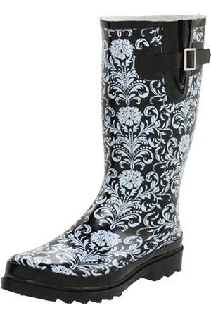 Western Chief Damen Overknees - Damen Damast Kniehohe Stiefel