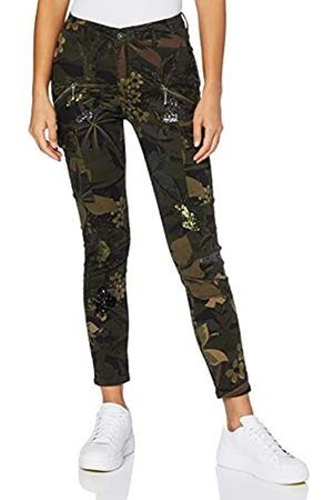 Desigual Womens CAMO Cargo Casual Pants
