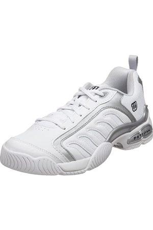 Wilson Damen Schuhe - Women's Pro Staff Fusion Tennis Shoe,White/Silver/Navy