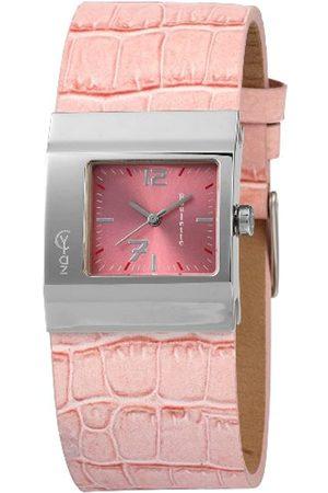Akzent Damen Uhren - Damen-Uhren mit Polyurethan Lederband 185225500006
