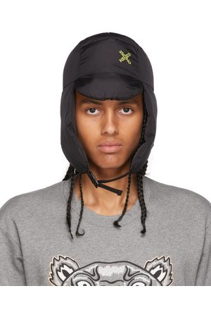 Kenzo Black Sport Flap Hat