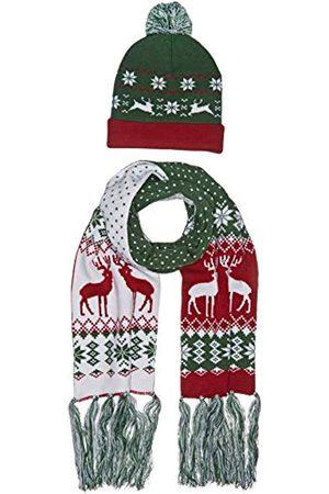 Urban classics Unisex Christmas Set Schal