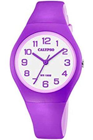 Calypso Quarz Uhr mit Kunststoff Armband K5777/7