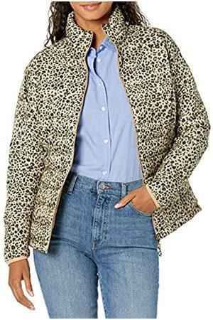 Amazon Damen Lightweight Water-resistant Packable Puffer Jacket Steppjacke,mehrfarbig(Tier.)