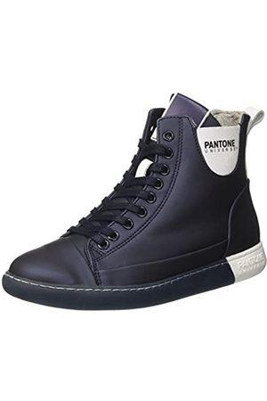 Pantone Damen Schuhe - Unisex-Erwachsene Tokyo Hohe Sneaker, (Mood Indigo 71)