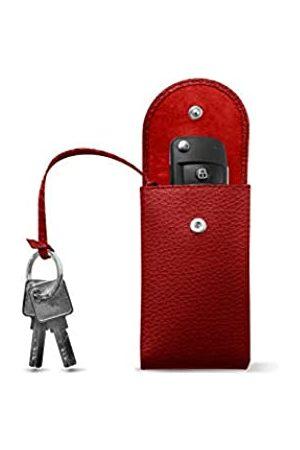 Lucrin Schlüsseletui - - Genarbtes Leder