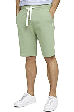 TOM TAILOR Herren 1026023 Sweatpants Bermuda Shorts, 19764-Light Mint Green