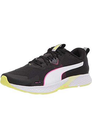 PUMA Damen Schuhe - Damen Speed 500 2 Laufschuh, Black-Fizzy Yellow
