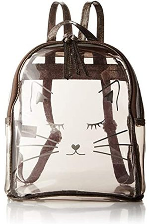 T-Shirt & Jeans Clear Cat Face Rucksack, (smoke)