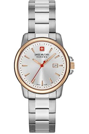 Swiss Military Hanowa Damen Analog Quarz Uhr mit Edelstahl Armband 06-7230.7.12.001