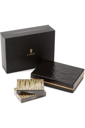 L'objet Crocodile Box Spielkarten-Set
