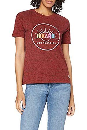 HIKARO Amazon-Marke: Damen Oversized-T-Shirt mit rundem Ausschnitt, 36