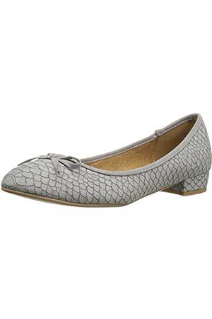 ATHENA Damen Uhren - Damen Elissa Dress Pump, (Grey Crocodile)