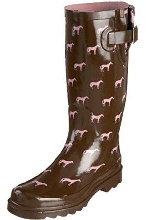 Western Chief Frauen Tiny Pferde Regen-Boot