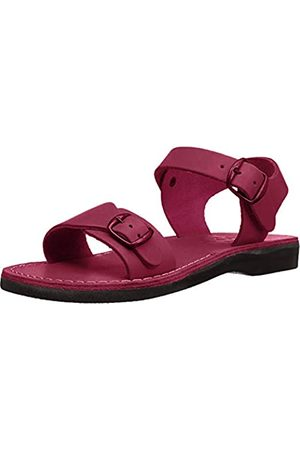 Jerusalem Sandals Damen Damen The Original Gummi Gladiator, Pink (Rose)