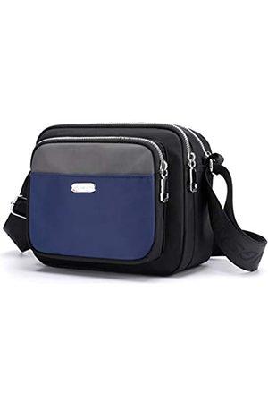 Collsants Damen Handtaschen - Kleine Umhängetasche für Frauen und Handtaschen, Nylon, Schultertasche, Reise-Geldbörse, mehrere Reißverschlusstaschen