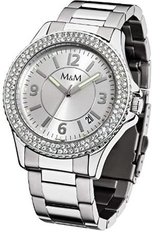 M&M Damen Uhren - Damen-Armbanduhr Lady Sports M11846-199