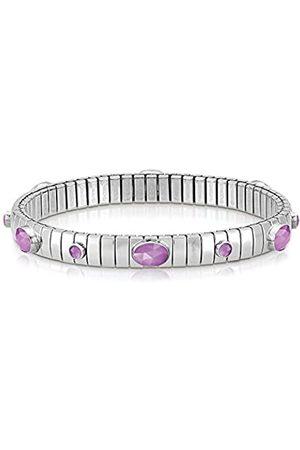 Nomination Damen-Armband 925 Jade lila 18 cm - 043322/002