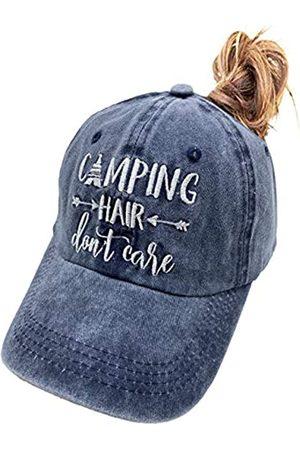 MANMESH HATT Camping Hair Don't Care Pferdeschwanz-Hut, Vintage-Design