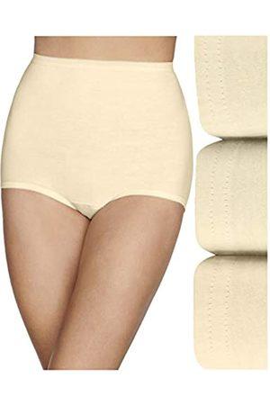 Vanity Fair Damen Lollipop Plus Size Brief Panties 3 Pack 15861 Unterhose